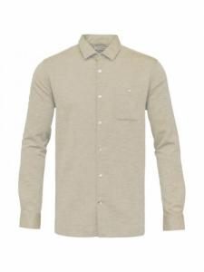 Structured shirt  - Light feather gray - Knowledge cotton apparel