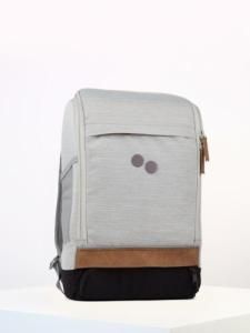 Sac à dos gris clair en plastique recyclé - cubik medium