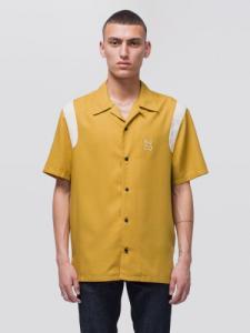 Chemise manches courtes safran en tencel - jack bowling - Nudie Jeans