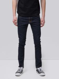 Jean skinny brut coton bio - tight terry rinse twill - Nudie Jeans