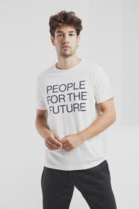 T-shirt en coton bio people for the future