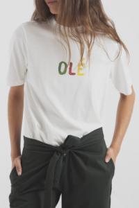 T-shirt en coton bio olé