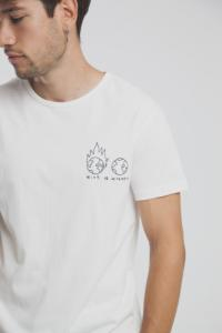T-shirt en coton bio with or without