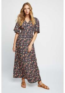 Robe longue imprimé floral en tencel - yasmin print maxi dress