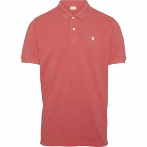 Polo corail en coton bio - pique polo - Knowledge Cotton Apparel