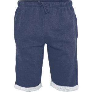 Short jogging bleu marine en coton bio