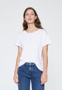 T-shirt blanc coton bio - naalin