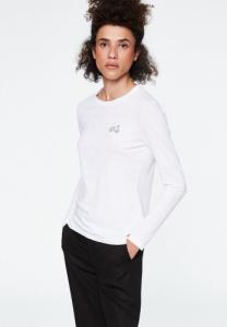 T-shirt manche longue brodé vespa coton biologique - laraa vespa