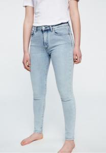 Jean skinny bleu clair en coton bio et tencel - tilly