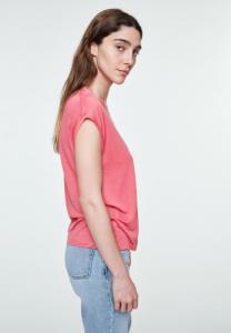 T-shirt uni rose en tencel - jilaa