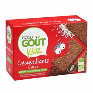 Croustillants au cacao Good Goût