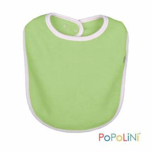 Popolini Bavoir coton vert 6 à 36 mois