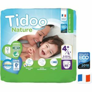 Tidoo Nature 23 Couches T4+ (9 à 20kg)