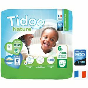 Tidoo Nature 25 Couches T6 (16 à 30kg)