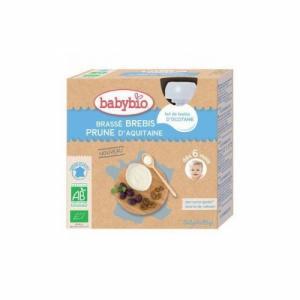 Babybio Brassés de brebis Prune 6m