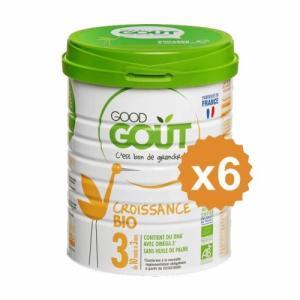 GOOD GOUT 3 Croissance x 6 boites