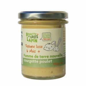 Petit pot Courgette Poulet 6 mois