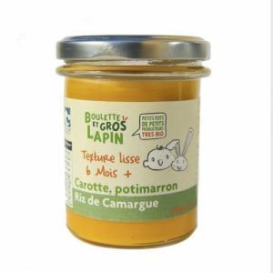 Petit pot carotte potimarron riz 6 mois