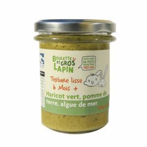 Petit pot Haricot vert Algue de mer 6m