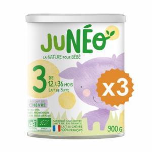 Junéo Chèvre 3 x 3 boites