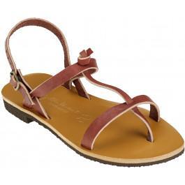 Sandales BANDOL Femme bordeaux -