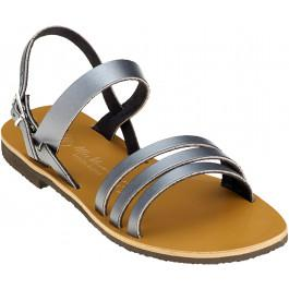 Sandales FLORA acier -