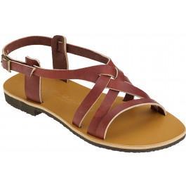 Sandales VERO bordeaux -