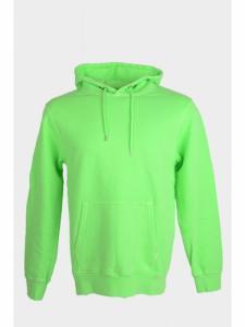 Neon classic Organic Hood - Neon Green - Colorful Standard