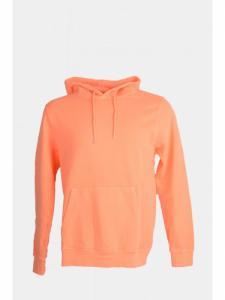 Neon classic Organic Hood - Neon Peach - Colorful Standard