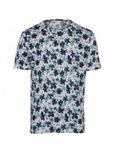 All over waterbased flower - Skyway - Knowledge cotton apparel