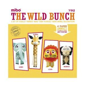 Paper toys - the wild bunch
