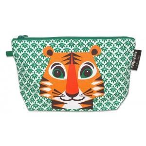 Trousse verte tigre
