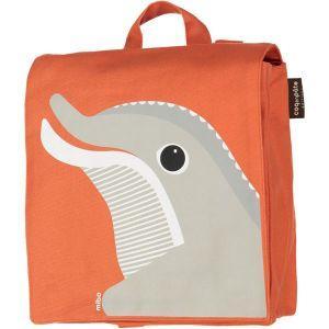 Sac à dos maternelle dauphin corail