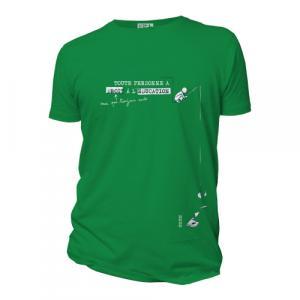 """T-shirt bio équitable DOUALA """"Education"""""""
