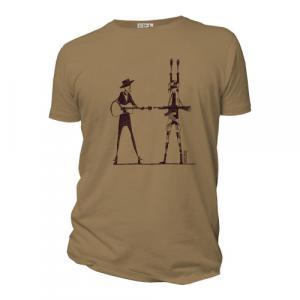 """T-shirt bio équitable DOUALA """"Haut les mains"""""""
