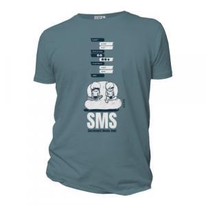 "T-shirt bio équitable DOUALA ""SMS"""