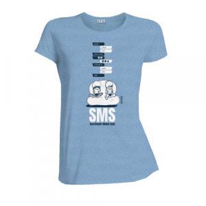 """T-shirt équitable coton bio JALNA """"SMS"""""""
