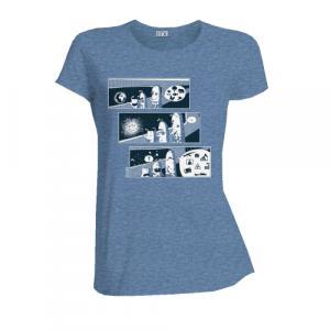 """T-shirt équitable coton bio JALNA """"The end"""""""