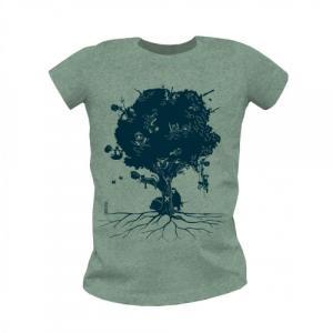 """T shirt coton bio équitable MANAUS """"Aux arbres citoyens"""""""