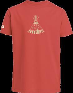 "T-shirt ""Tipi"" pour filles et garçons"