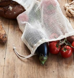 Filet fruits et légumes en coton bio