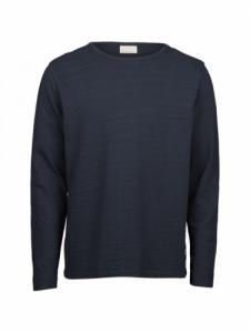 ELM LS - GOTS-Vegan - Total Eclipse - Knowledge cotton apparel