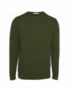 Small diamond Knit - Green Forest - Knowledge cotton apparel