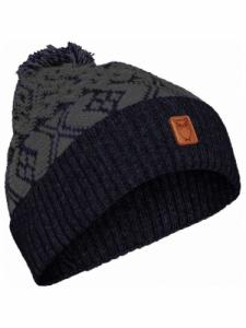 Jacquard hat - Total Eclipse - Knowledge Cotton Apparel