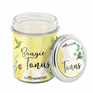Bougie parfumée Tonus - 100% végétale - 150g