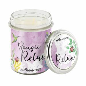 Bougie parfumée Relax - 100% végétale - 150g