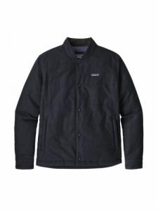Recycled wool bomber jacket - Classic navy - Patagonia