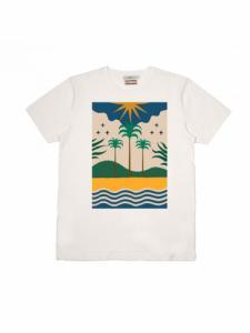 T-shirt Soho - Ecru - OLOW