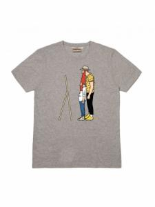 T-shirt Barbe - Gris - OLOW