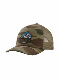 Casquette Fitz Roy Scope Lopro Trucker - Bear Witness Camo : Sage Khaki - Patagonia